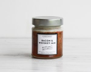Hamburger special: Bacon & whiskey jam