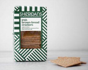 Bruin brood crackers