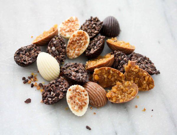 Chocolade deluxe paaseitjes
