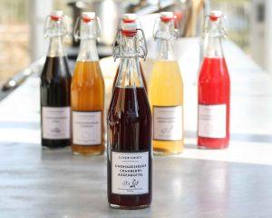 Limonadesiroop Cranberry-Rozenbottel