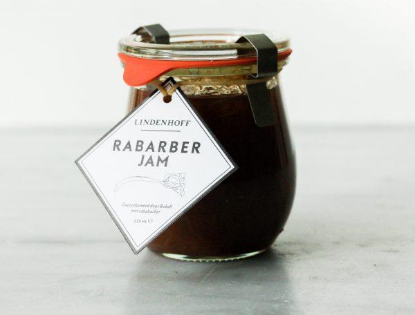Rabarber Jam Lindenhoff