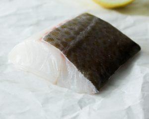 Kabeljauwfilet met vel (120 gram)