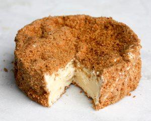 Camembert au calvados pané