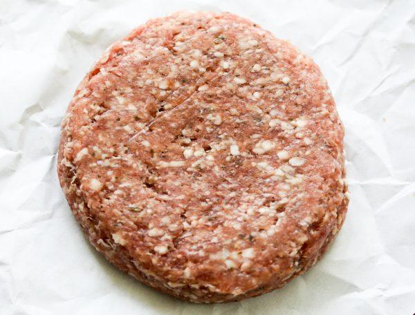 Kamper lamsburger (ontdooid)