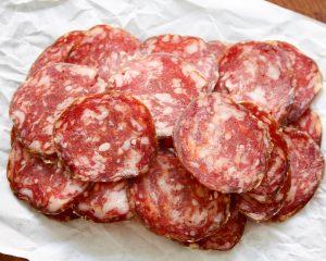 Gesneden Gasconne salami