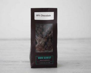 Chocolade drups 70% puur van Soest