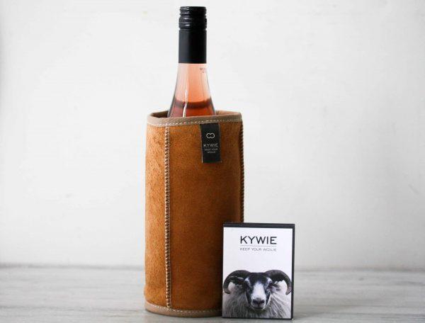 Kywie wijnkoeler bruin